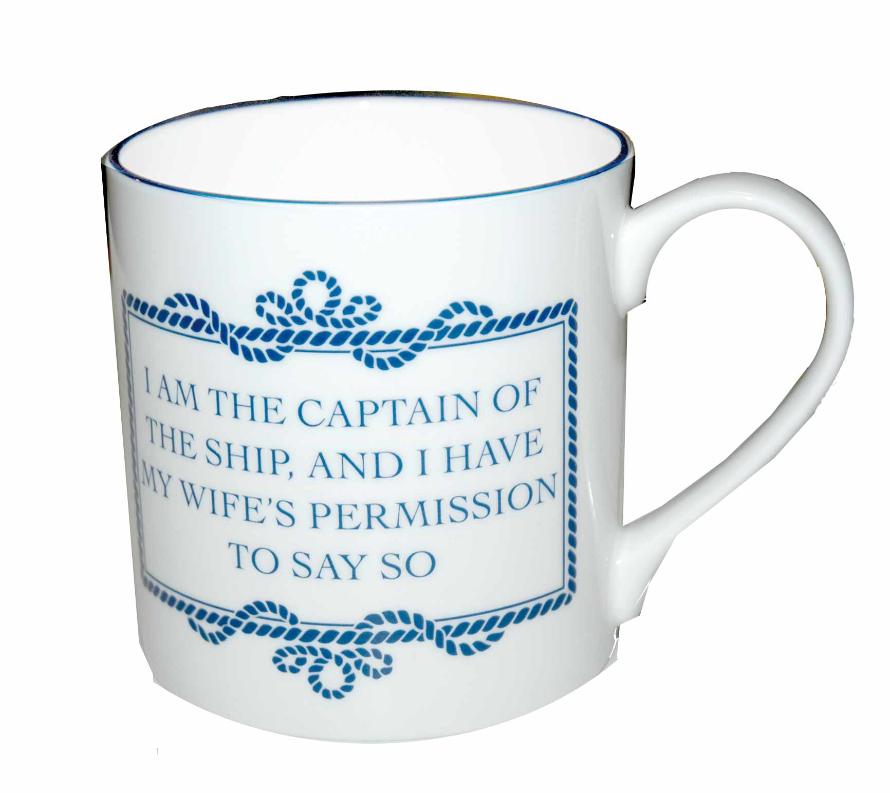 Tasse I AM THE CAPTAIN ,280ml